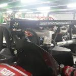 Teto para Gaiola Racing com iluminação embutida para Canam Maverick X3 | YRZ Factory