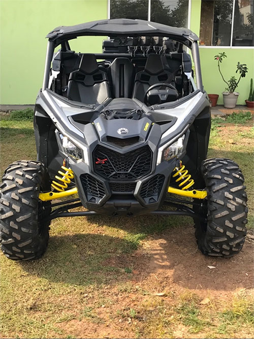 Maverick X3 120 hp 1000 turbo