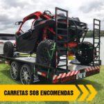 CARRETAS SOB ENCOMENDAS PARA UTV >> CARRETAS COLARES <<