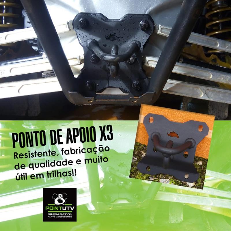 PONTO DE APOIO CAN AM X3