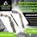 DOWNPIPE – MAIS POTÊNCIA E PRESERVAÇÃO P/ O MOTOR DO SEU X3!!!!!!!