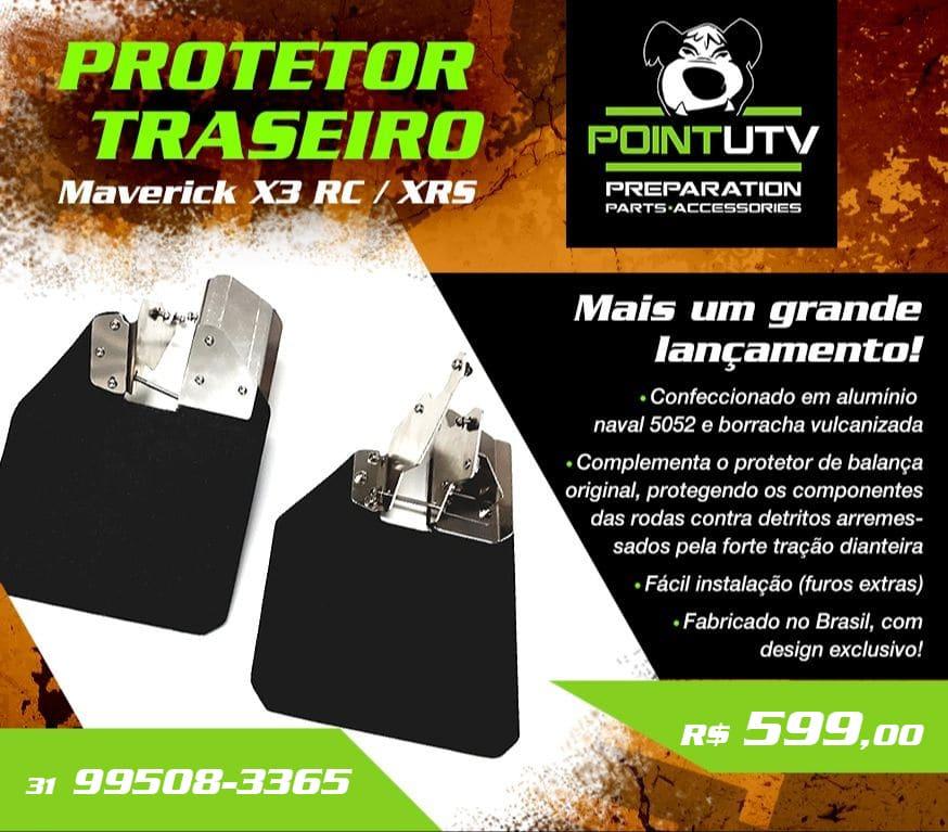 PROTETOR TRASEIRO – MAVERICK X3 RC / XRS